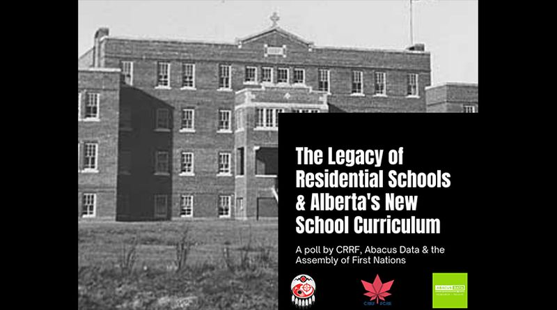 Half of Albertans know little about Indian Residential Schools: Poll