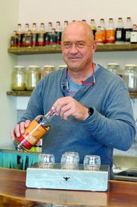 Rolling Hills distillery makes point of keeping it local